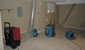 Water Damage Yucaipa Vacuuming Attic