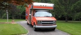 Mold Removal And Water Damage Restoration Truck